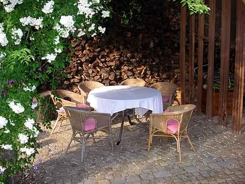 Ferienwohnungen Frankische Schweiz Bilder Von Unserem Garten